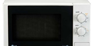 Microondas LG MH6322D con capacidad de 23 litros