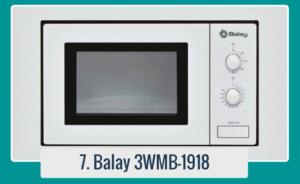 Microondas Blanco - 3WMB1918 | BALAY