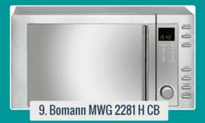 Vea o descargue aqui el manual de la Bomann MWG 2281 H CB Microondas en Español.