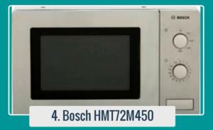Microondas Bosch HMT72M450 de acero inoxidable