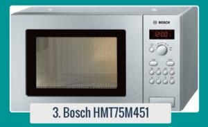 El microondas Bosch HMT75M451 está rebajado