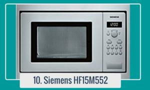 Microondas de acero inoxidable Siemens HF15M552 compre en línea