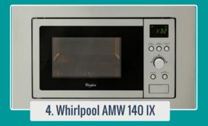 AMW 140 IX - WHIRLPOOL Horno de microondas empotrado