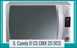 Vea las características, beneficios y precio del microondas Candy CMG 25 DCS