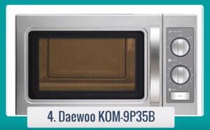 Microondas profesional KOM-9P35B 29 litros DAEWOO