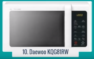 Compra Daewoo KQG-81RW - Microondas (Encimera, Microondas combinado