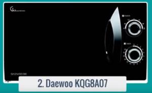 El mejor microondas Daewoo barato