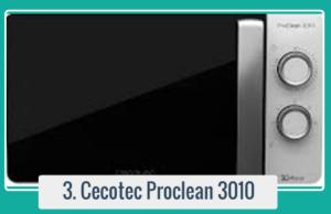 Comprar tu Cecotec ProClean 3010 Microondas
