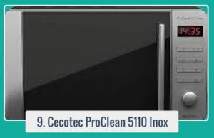 Compra Cecotec Microondas con Grill ProClean 5110 Inox