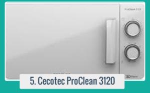 ProClean 3120 Microondas con Grill 20 L Comrpar en Cecotec